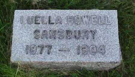 HOWELL SANSBURY, LUELLA - Meigs County, Ohio | LUELLA HOWELL SANSBURY - Ohio Gravestone Photos