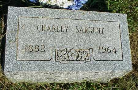 SARGENT, CHARLEY - Meigs County, Ohio | CHARLEY SARGENT - Ohio Gravestone Photos