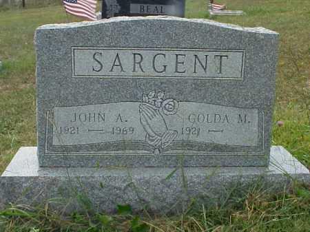 SARGENT, GOLDA M. - Meigs County, Ohio | GOLDA M. SARGENT - Ohio Gravestone Photos