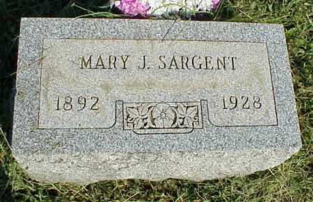 SARGENT, MARY J. - Meigs County, Ohio | MARY J. SARGENT - Ohio Gravestone Photos