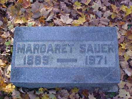 SAUER, MARGARET - Meigs County, Ohio | MARGARET SAUER - Ohio Gravestone Photos