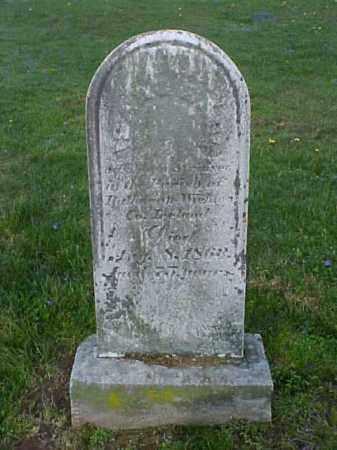 SAUL, ISAAC - Meigs County, Ohio | ISAAC SAUL - Ohio Gravestone Photos