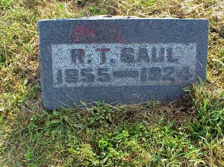 SAUL, ROBERT THOMAS - Meigs County, Ohio | ROBERT THOMAS SAUL - Ohio Gravestone Photos