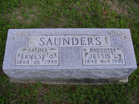 SAUNDERS, JESSIE L. - Meigs County, Ohio | JESSIE L. SAUNDERS - Ohio Gravestone Photos