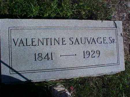 SAUVAGE, VALENTINE, SR. - Meigs County, Ohio | VALENTINE, SR. SAUVAGE - Ohio Gravestone Photos
