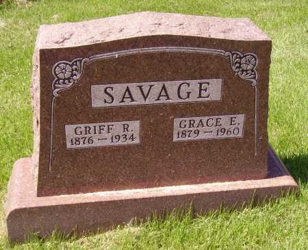 SAVAGE, GRIFF - Meigs County, Ohio | GRIFF SAVAGE - Ohio Gravestone Photos