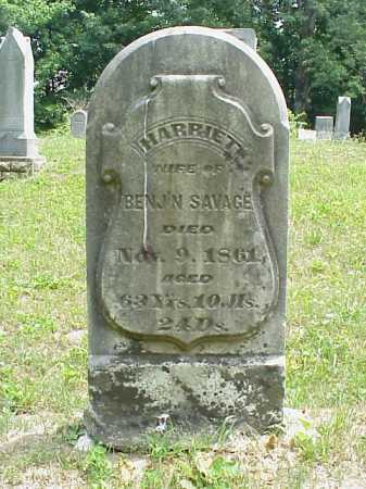 SAVAGE, HARRIET - Meigs County, Ohio | HARRIET SAVAGE - Ohio Gravestone Photos