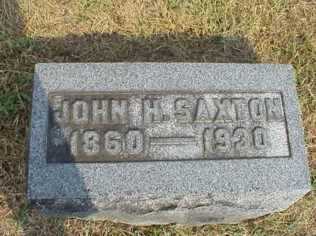 SAXTON, JOHN H. - Meigs County, Ohio | JOHN H. SAXTON - Ohio Gravestone Photos
