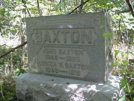 CAMPBELL SAXTON, LOUISA - Meigs County, Ohio | LOUISA CAMPBELL SAXTON - Ohio Gravestone Photos