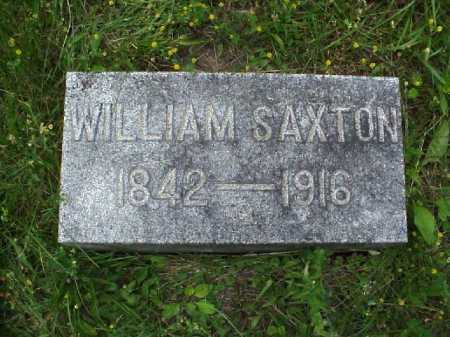 SAXTON, WILLIAM - Meigs County, Ohio | WILLIAM SAXTON - Ohio Gravestone Photos