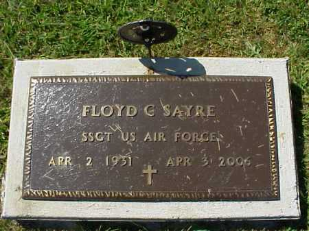 SAYRE, FLOYD C. - MILITARY - Meigs County, Ohio | FLOYD C. - MILITARY SAYRE - Ohio Gravestone Photos