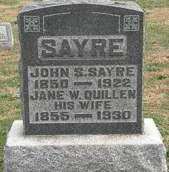 SAYRE, JOHN S. - Meigs County, Ohio | JOHN S. SAYRE - Ohio Gravestone Photos