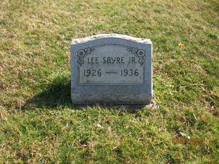 SAYRE, LEE JR - Meigs County, Ohio | LEE JR SAYRE - Ohio Gravestone Photos