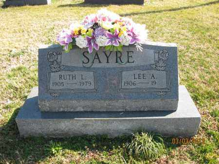 SAYRE, RUTH L - Meigs County, Ohio | RUTH L SAYRE - Ohio Gravestone Photos