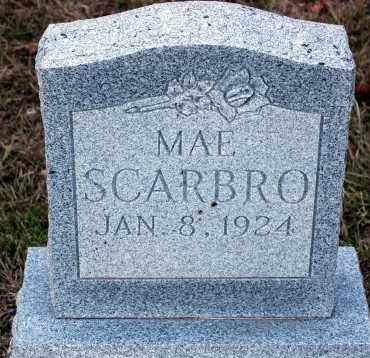 SCARBRO, MAE - Meigs County, Ohio | MAE SCARBRO - Ohio Gravestone Photos
