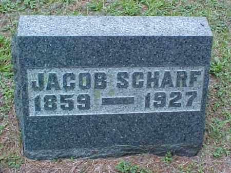 SCHARF, JACOB - Meigs County, Ohio | JACOB SCHARF - Ohio Gravestone Photos