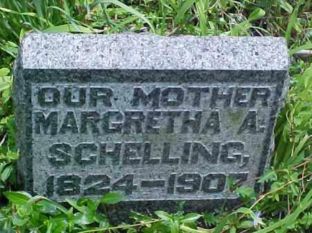 SCHELLING, MARGRETHA A. - Meigs County, Ohio | MARGRETHA A. SCHELLING - Ohio Gravestone Photos