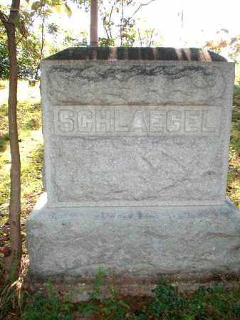 SCHLAEGEL, MONUMENT - Meigs County, Ohio | MONUMENT SCHLAEGEL - Ohio Gravestone Photos