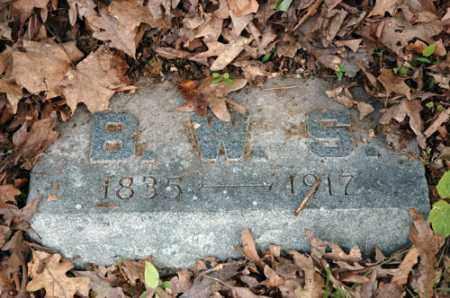 SCHLAGEL, B.W.S. - Meigs County, Ohio | B.W.S. SCHLAGEL - Ohio Gravestone Photos