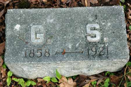 SCHLAGEL, G.S. - Meigs County, Ohio | G.S. SCHLAGEL - Ohio Gravestone Photos