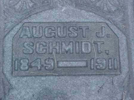 SCHMIDT, AUGUST J. - Meigs County, Ohio | AUGUST J. SCHMIDT - Ohio Gravestone Photos