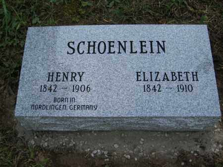 SCHOENLEIN, HENRY - Meigs County, Ohio | HENRY SCHOENLEIN - Ohio Gravestone Photos