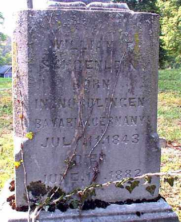 SCHOENLEIN, WILLIAM F. - Meigs County, Ohio | WILLIAM F. SCHOENLEIN - Ohio Gravestone Photos