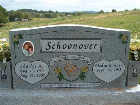 "SCHOONOVER, MEDIA B. ""MICKIE"" - Meigs County, Ohio 