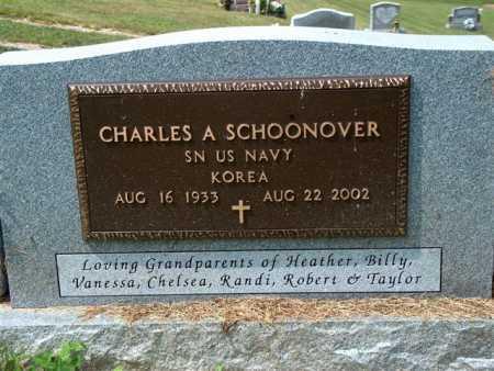 SCHOONOVER, CHARLES A. - Meigs County, Ohio | CHARLES A. SCHOONOVER - Ohio Gravestone Photos