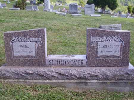 SCHOONOVER, FREDA - OVERALL VIEW - Meigs County, Ohio | FREDA - OVERALL VIEW SCHOONOVER - Ohio Gravestone Photos