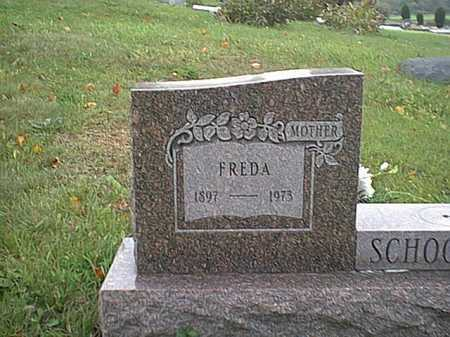 LITTLE SCHOONOVER, FREDA - Meigs County, Ohio | FREDA LITTLE SCHOONOVER - Ohio Gravestone Photos