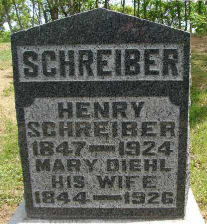 SCHREIBER, MARY - Meigs County, Ohio | MARY SCHREIBER - Ohio Gravestone Photos