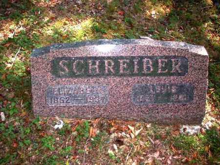 SCHREIBER, ELIZABETH - Meigs County, Ohio | ELIZABETH SCHREIBER - Ohio Gravestone Photos
