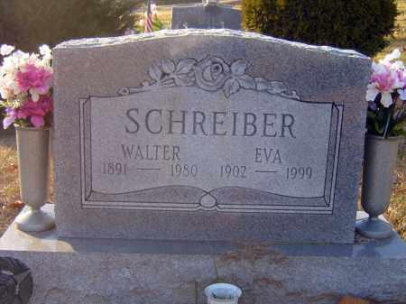 SCHREIBER, WALTER - Meigs County, Ohio | WALTER SCHREIBER - Ohio Gravestone Photos