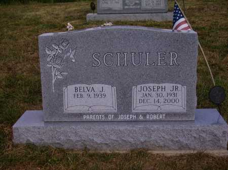 SCHULER, JOSEPH JR. - Meigs County, Ohio | JOSEPH JR. SCHULER - Ohio Gravestone Photos