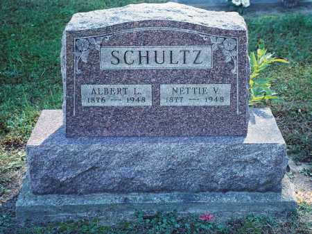 SCHULTZ, NETTIE V. - Meigs County, Ohio | NETTIE V. SCHULTZ - Ohio Gravestone Photos