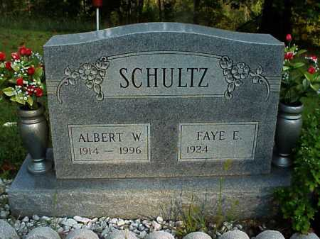 SCHULTZ, FAYE E. - Meigs County, Ohio | FAYE E. SCHULTZ - Ohio Gravestone Photos