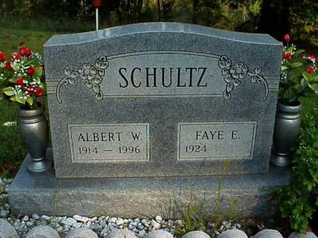 SCHULTZ, ALBERT W. - Meigs County, Ohio | ALBERT W. SCHULTZ - Ohio Gravestone Photos