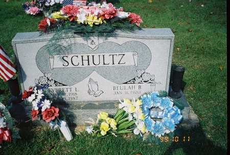 SCHULTZ, EVERETT L. - Meigs County, Ohio | EVERETT L. SCHULTZ - Ohio Gravestone Photos