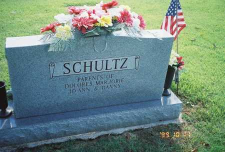 SCHULTZ, EVERETT L. - BACK OF STONE - Meigs County, Ohio | EVERETT L. - BACK OF STONE SCHULTZ - Ohio Gravestone Photos