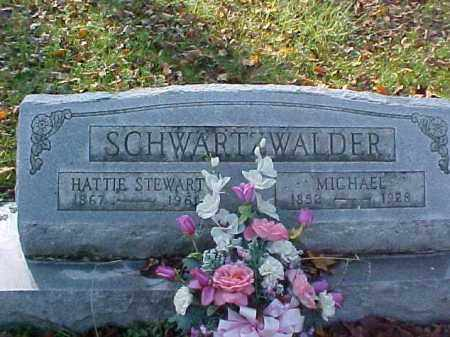SCHWARTZWALDER, HATTIE - Meigs County, Ohio | HATTIE SCHWARTZWALDER - Ohio Gravestone Photos