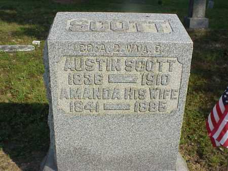 SCOTT, AMANDA - Meigs County, Ohio | AMANDA SCOTT - Ohio Gravestone Photos