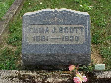 JONES SCOTT, EMMA J. - Meigs County, Ohio | EMMA J. JONES SCOTT - Ohio Gravestone Photos