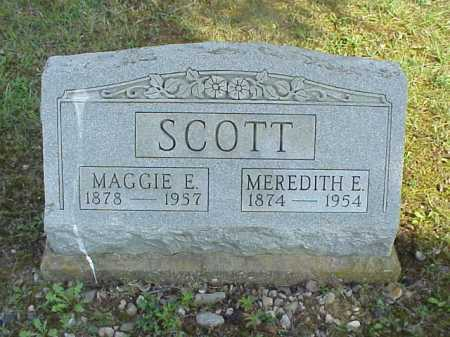 SCOTT, MEREDITH E. - Meigs County, Ohio | MEREDITH E. SCOTT - Ohio Gravestone Photos
