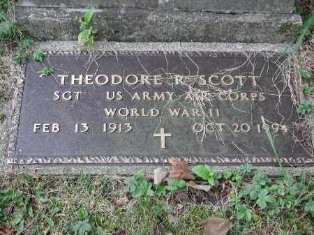 SCOTT, THEODORE R. - Meigs County, Ohio | THEODORE R. SCOTT - Ohio Gravestone Photos