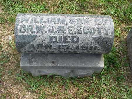 SCOTT, WILLIAM - VIEW 1 - Meigs County, Ohio | WILLIAM - VIEW 1 SCOTT - Ohio Gravestone Photos