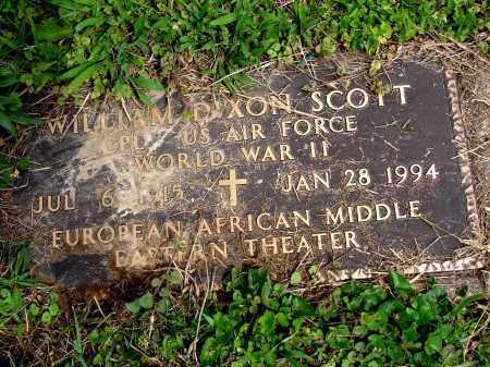 SCOTT, WILLIAM DIXON - Meigs County, Ohio   WILLIAM DIXON SCOTT - Ohio Gravestone Photos
