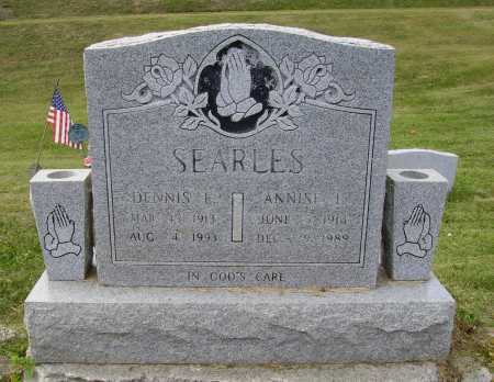 SEARLES, ANNISE L. - Meigs County, Ohio | ANNISE L. SEARLES - Ohio Gravestone Photos