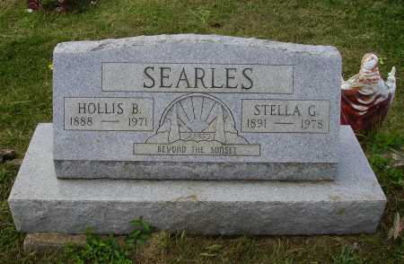 SEARLES, HOLLIS B. - Meigs County, Ohio | HOLLIS B. SEARLES - Ohio Gravestone Photos