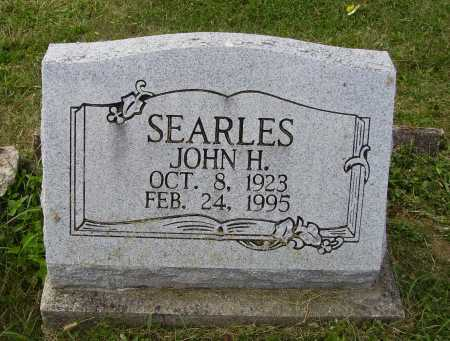 SEARLES, JOHN H. - Meigs County, Ohio | JOHN H. SEARLES - Ohio Gravestone Photos